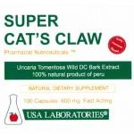 СУПЕР КОТЕШКИ НОКЪТ (Cat's Claw) - 600 mg